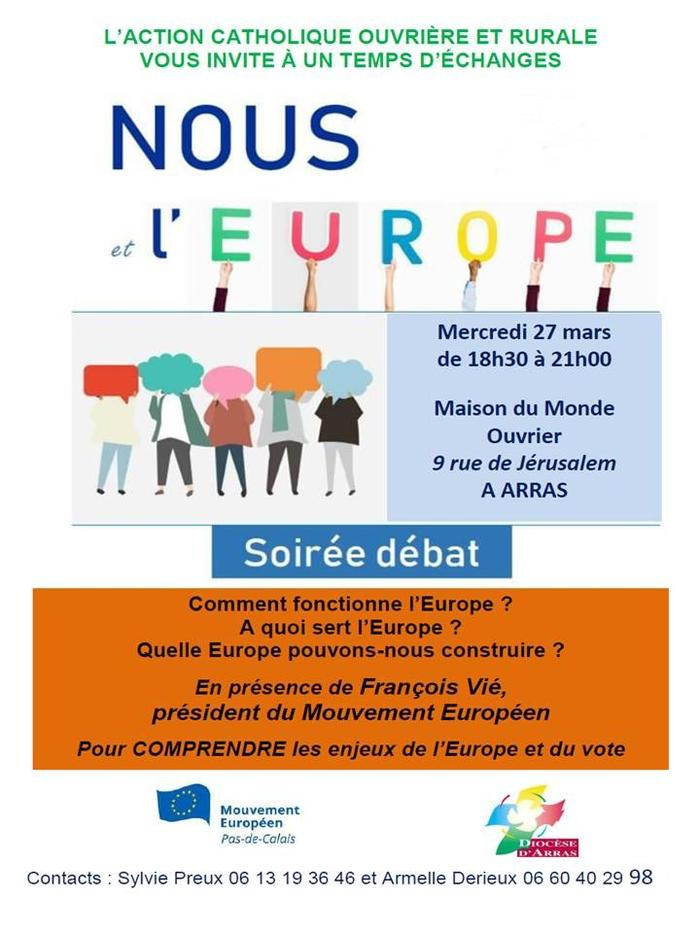 invitation elections europeennes Arras