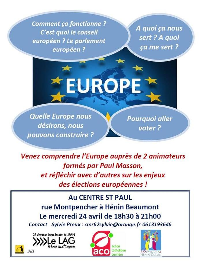 invitation Europe Henin Beaumont