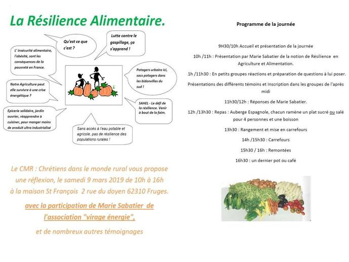 invitation journee agricole 2019