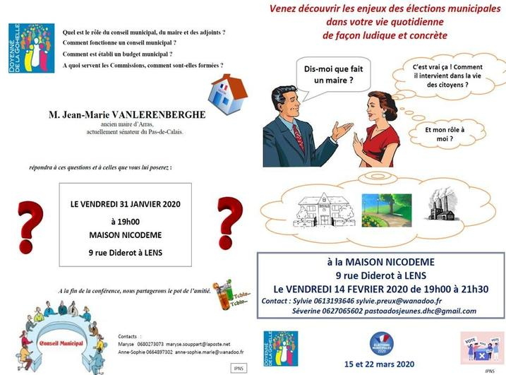 Invitation soirees elections