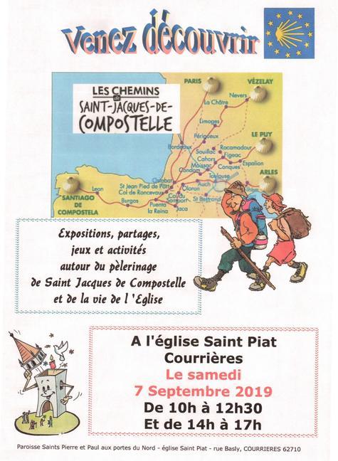 invitation St Jacques de Compostelle