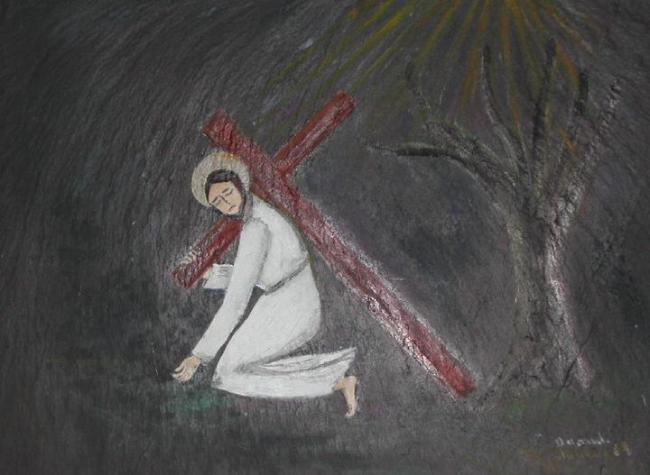 première rencontre du christ avec le tombeau