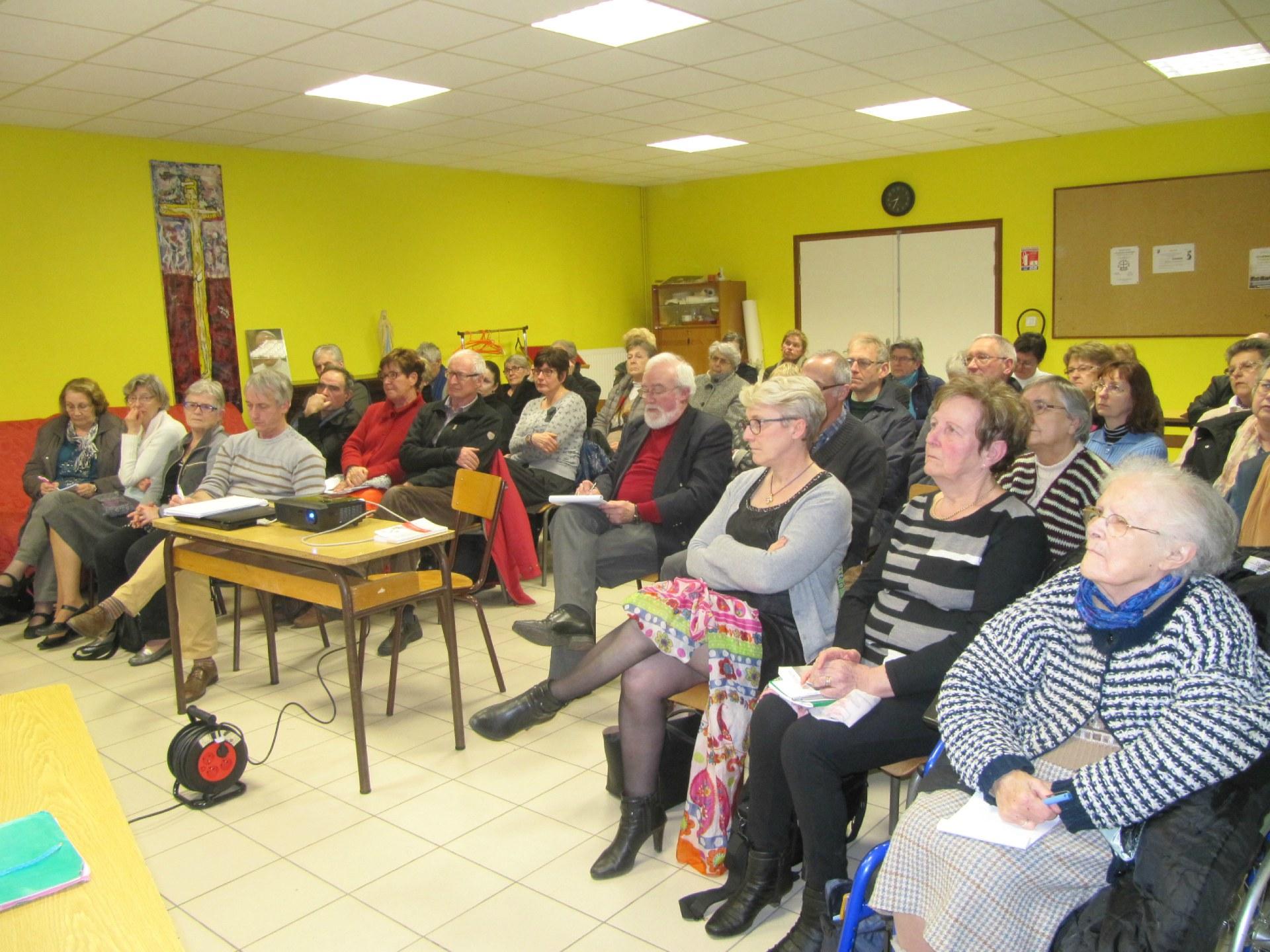 Rencontre autour de laudato si 39 en paroisse for Salon voyance 2017