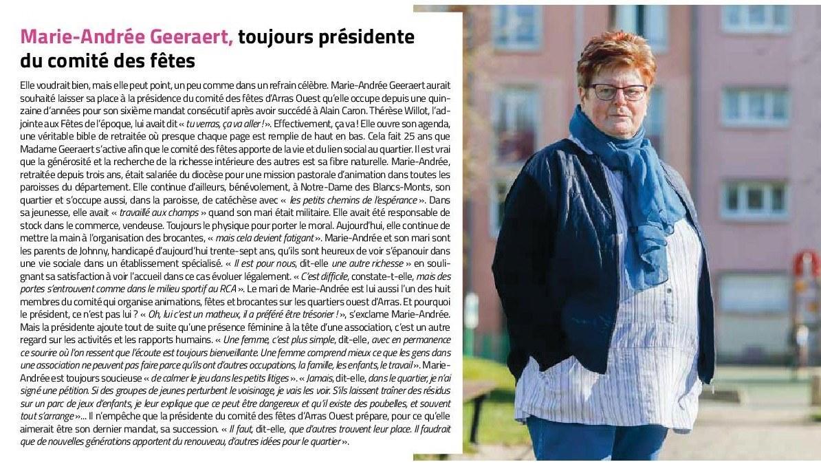 Marie-Andrée GEERAERT