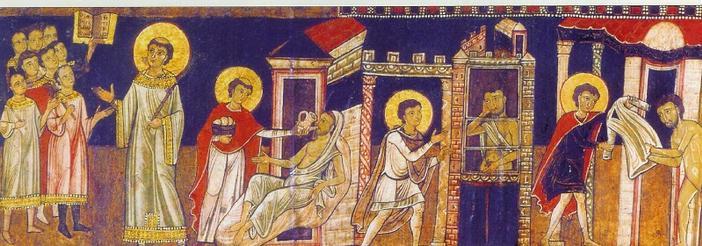 Matthieu 25: j'avais faim, j'étais nu, malade et vous m'avez visité