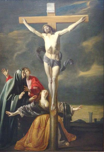 Mc 15-40 La crucifixion (Anonyme)