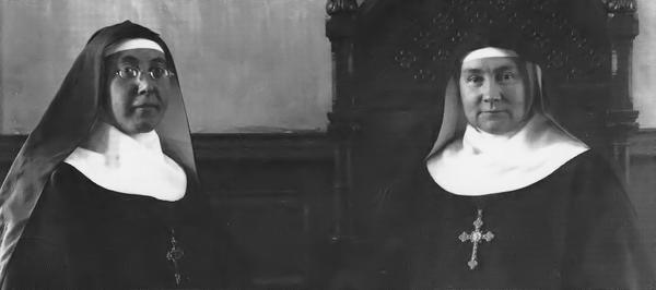 Mere Cecile Bruyere et Mere Therese Bernard-1