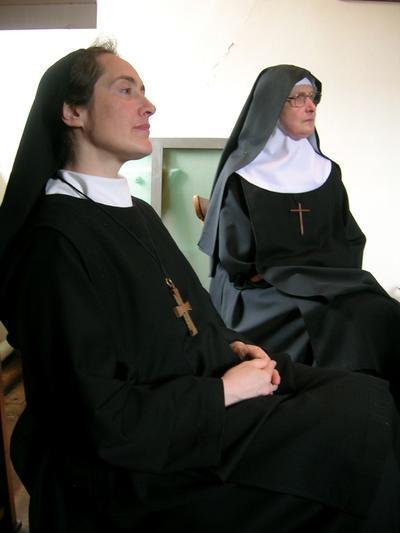 Mère Martha et Mère Marie-Elisabeth