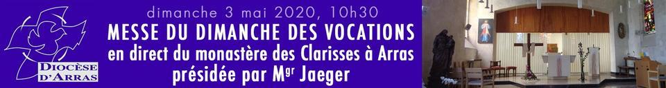 Messe chez les Clarisses+date