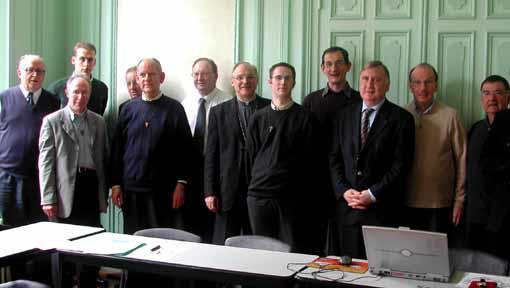 Mars 2005. Parmi eux, trois seront ordonnés prêtre en 2007