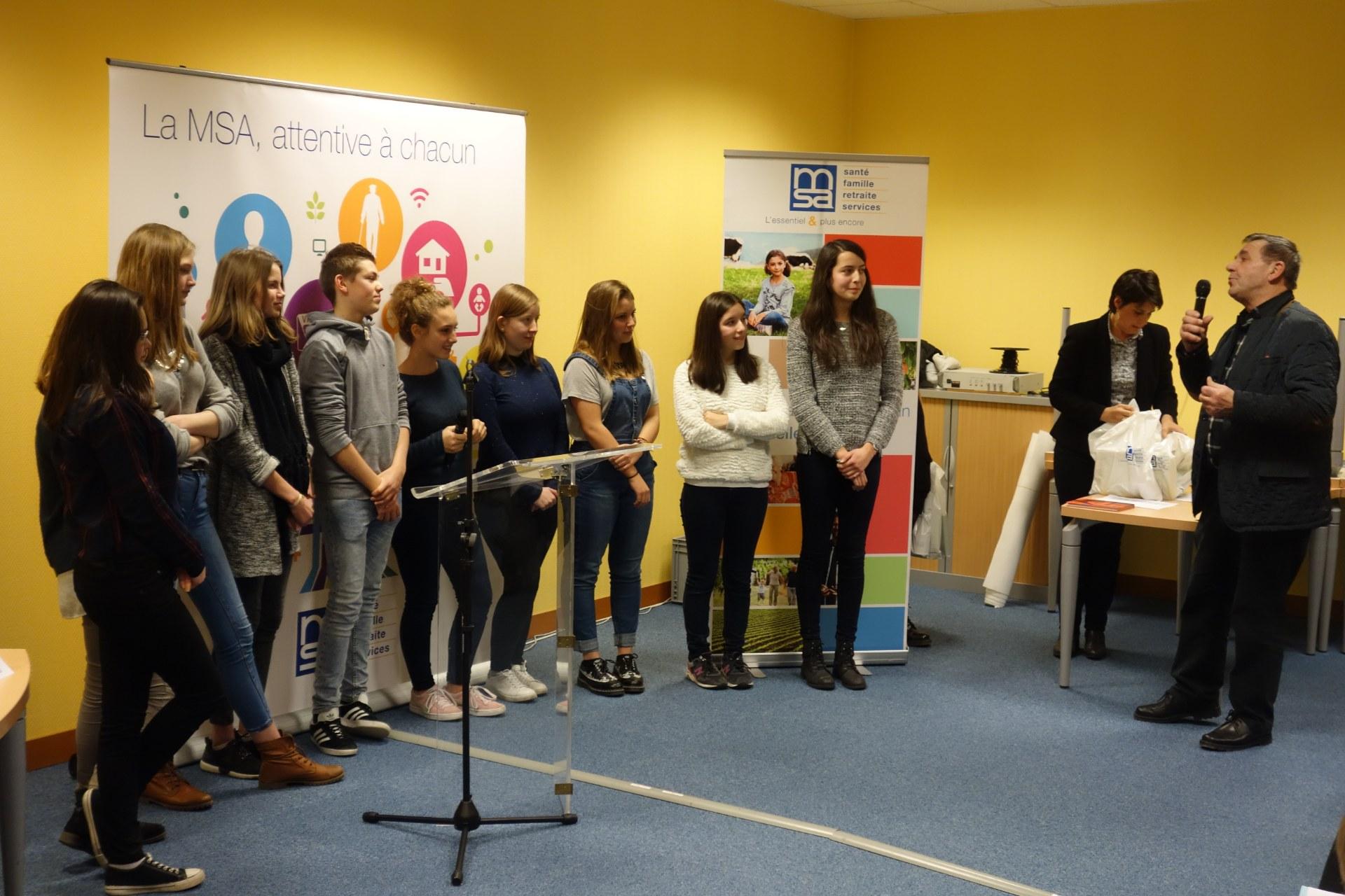 Des jeunes en route pour remporter un prix lors du salon for Prix du salon de l agriculture