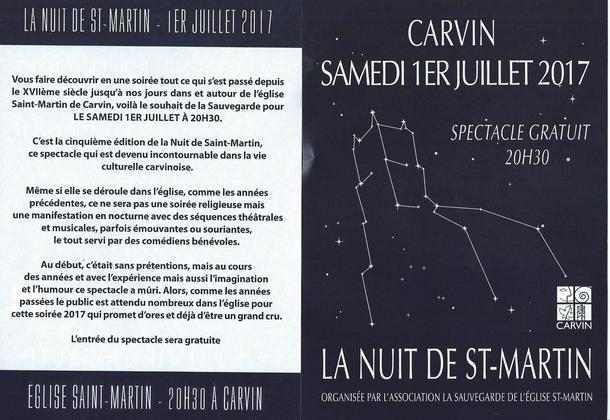nuit st Martin 1er juillet 2017