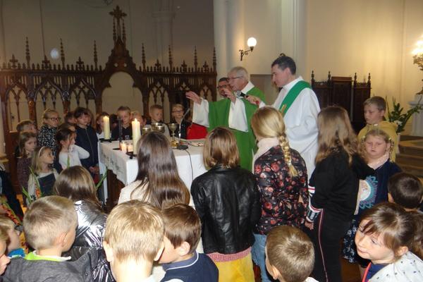 6 oct 18 Benediction des cartables a La Couture (1