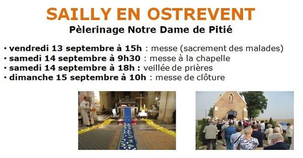 Pele Sailly en Ostrevent 13 au 15 septembre 2019