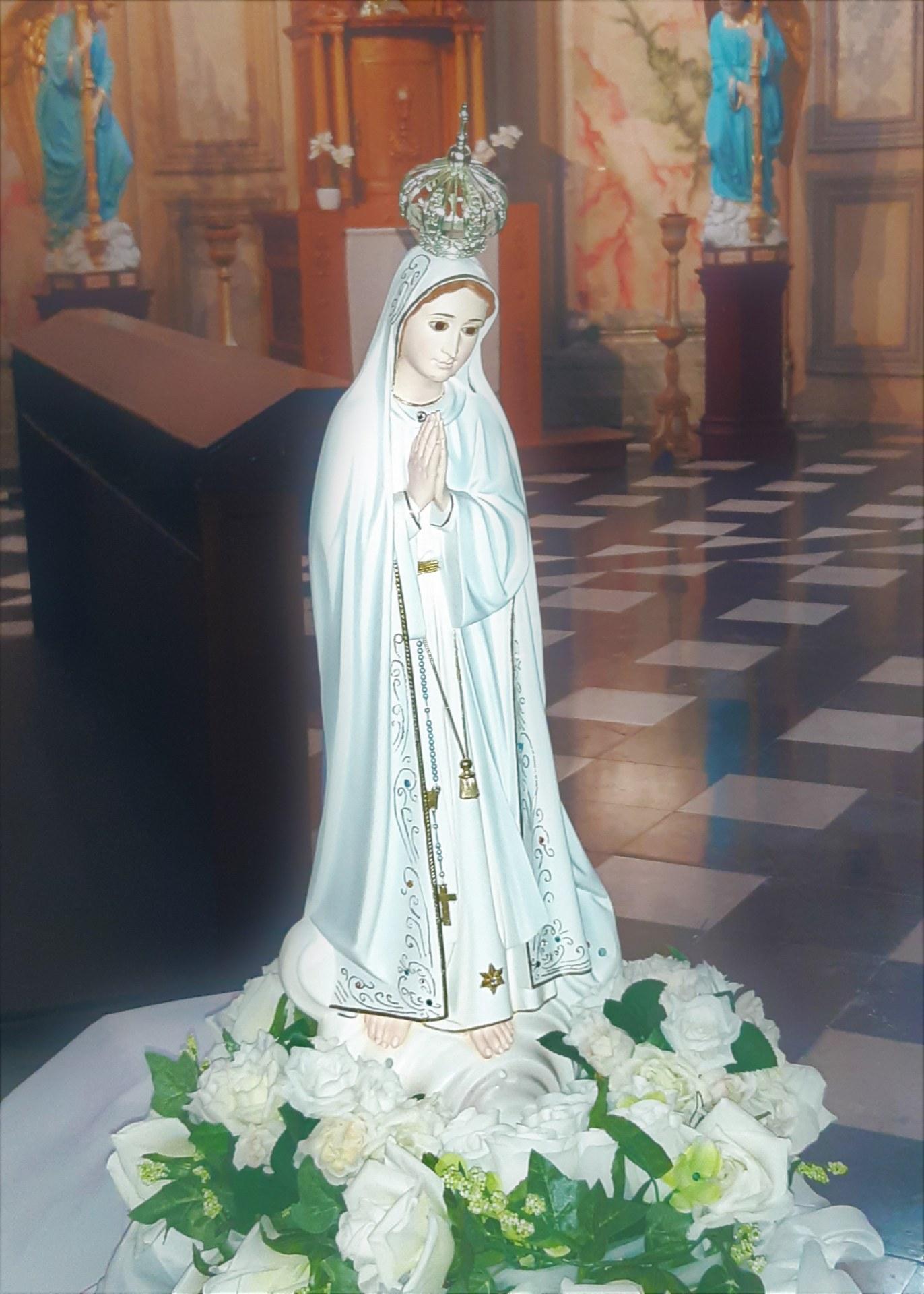 Procession De La Sainte Vierge Marie