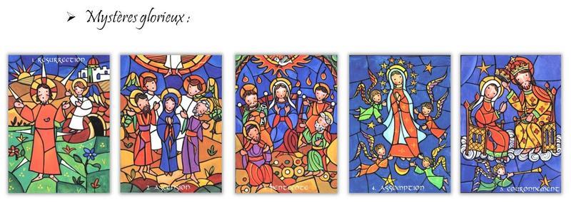 puzzles rosaire glorieux