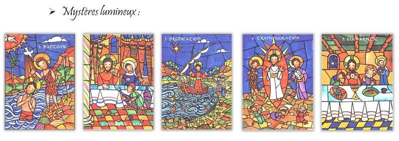 puzzles rosaire lumineux