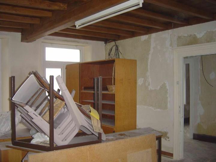 maison de la paroisse m re teresa en cours de travaux. Black Bedroom Furniture Sets. Home Design Ideas