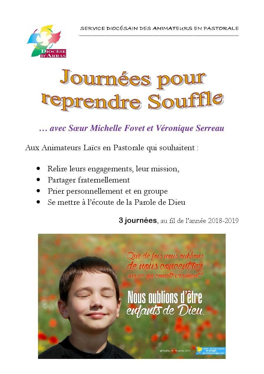tract journees reprendre Souffle 2018-20191