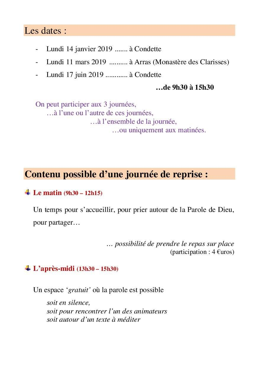 tract journees reprendre Souffle 2018-20192