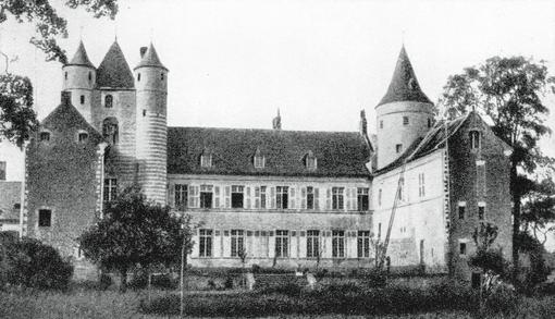 Le Grand Château avant l'arrivée des moniales
